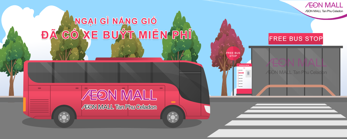 FREE BUS AEON MALL TAN PHU CELADON