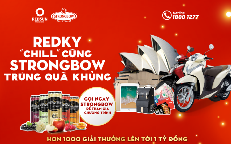 CHILL WITH STRONGBOW – GET GREAT GIFT WITH TRULY VIET