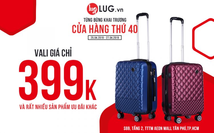 GRAND OPENING OF OUR 40TH LUG.vn STORE – GET YOUR FREE TOTE-BAG