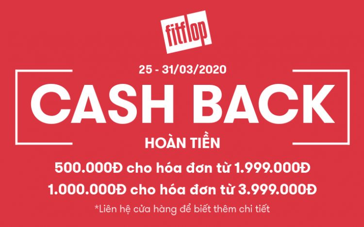 ENJOY SHOPPING WITH THE OPPORTUNITY CASHBACK UP TO VND 1,000,000