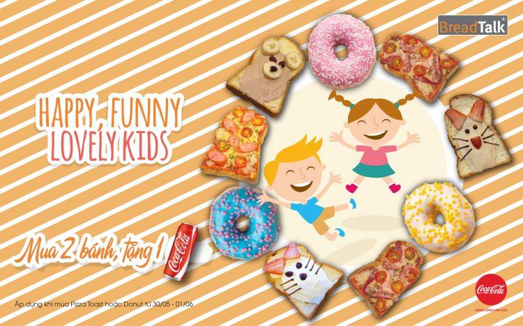 HAPPY FUNNY LOVELY KIDS