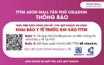 MEDICAL DECLARATION AT AEON MALL TAN PHU CELADON