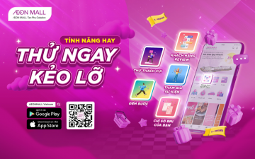 🤩 5 NEW FUNCTIONS OF AEONMALL VIETNAM APP – TRY IT NOW! 🤩