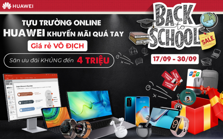BACK TO SCHOOL – HUAWEI PROMOTION