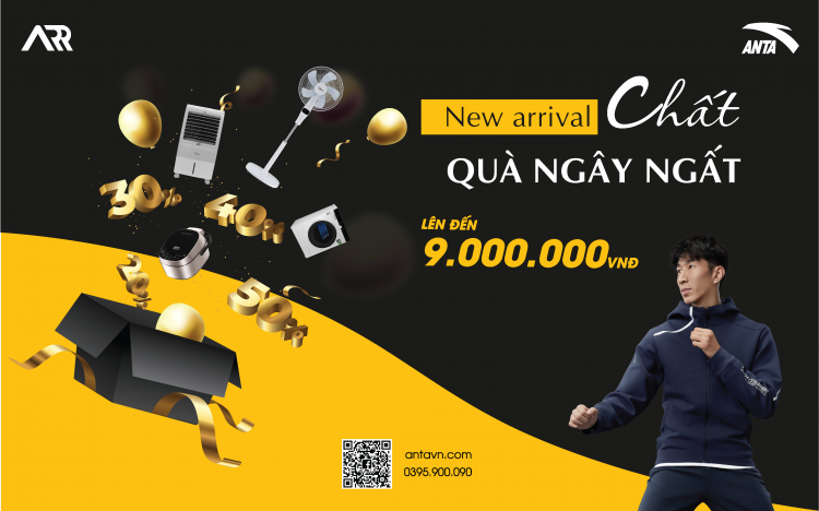 ANTA | WELCOME NEW ARRIVAL – GIVE HUGE GIFTS